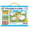 Galt 4 Puzzle egy dobozban- Farm