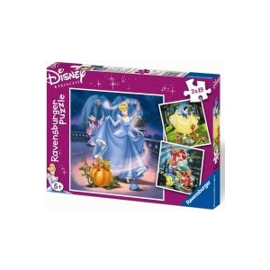Ravensburger Princess puzzle, 3 x 49
