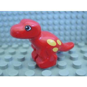 LEGO duplo t-rex bébi piros