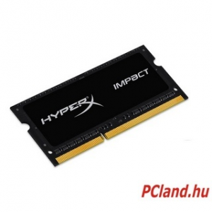 Kingston 4GB/1600MHz DDR-3 HyperX Impact Black 1,35V (HX316LS9IB/4) notebook memória (HX316LS9IB/4)