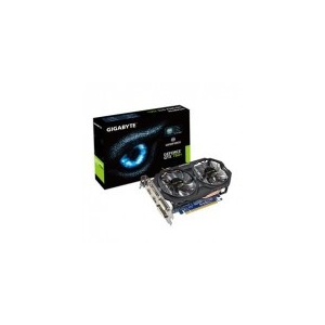 Gigabyte PCI-E Nvidia GTX750 Ti OC (2048MB, DDR5, 128bit, 1111/ 5400Mhz, 2xDVI, 2xHDMI, Dual Slot Ventilátor)