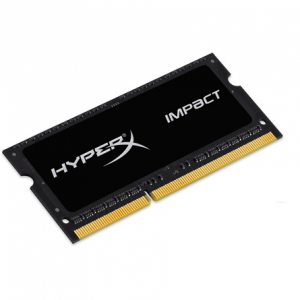 Kingston HyperX Impact Black 4GB 1600MHz DDR3 - SODIMM memória Non-ECC Low-Voltage CL9 1.35V HX316LS9IB/4