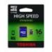 Toshiba Memóriakártya, Micro SDHC, 16GB, Class 4, adapterrel, TOSHIBA