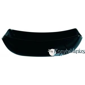 LUMINARC QUADRATO fekete tányér mély 20 cm
