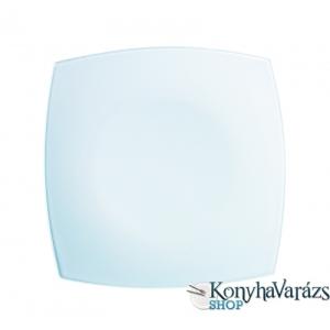 LUMINARC QUADRATO fehér tányér desszert 18,5cm