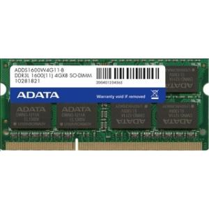 ADATA DDR3L 8GB 1600MHz CL11 1.35V, Retail (ADDS1600W8G11-R)