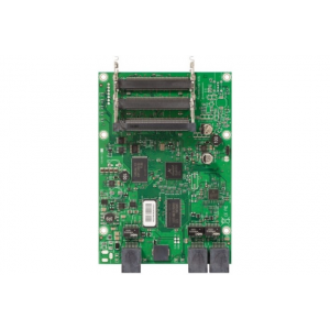 MIKROTIK RouterBOARD 433L with 300MHz Atheros CPU, 64MB RAM, 3 LAN, 3 miniPCI, RouterOS L4