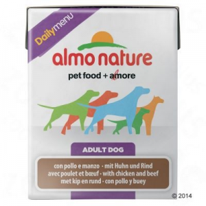 Almo Nature Daily Menu 6 x 375g - Csirke & marha
