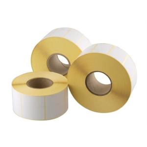 . Etikett, thermo, 25x50 mm, 2000 etikett/csomag