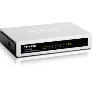 "TP-Link Switch, 8 port, 10/100 Mbps, ""TL-SF1008D"""