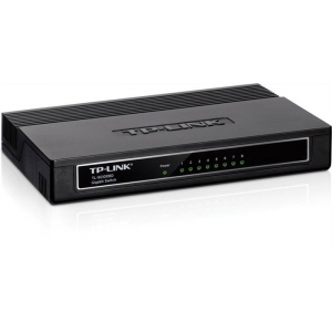 "TP-Link Switch, 8 port, 10/100/1000 Mbps, ""TL-SG1008D"""