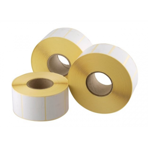 . Etikett, thermo, 38x43 mm, 1000 etikett/csomag