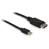 DELOCK DisplayPort - mini DisplayPort kábel 1m