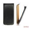 CELLECT Huawei P7 Flip bőr tok, Fekete
