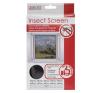 Szúnyogháló ablakra 130x150 cm fekete szúnyogháló