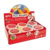 APLI Gyurma, 168 g, APLI, Fun Dough display, különleges színek (LCA13452)