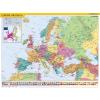 Stiefel Könyökalátét, kétoldalas, STIEFEL, Európa országai/Európa gyerektérkép (VTK24)
