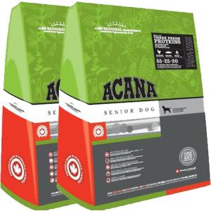 Acana Senior Dog kutyatáp 2X13 kg DuoPack