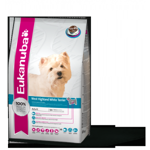 Eukanuba Adult West Highland White Terrier 2,5 kg