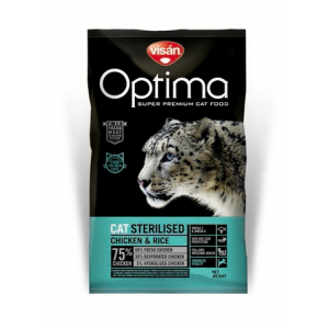 Visán Optima Cat Sterilised 10 kg macskatáp