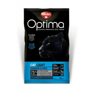 Visán Optima Cat Light 10 kg macskatáp