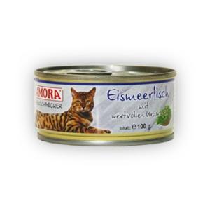 Amora Amora Feinschmecker Katze 100g Tengeri hal&Gyógynövény