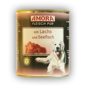Amora Amora Fleisch Pur Konzerv 800g Lazac&Tengerihal