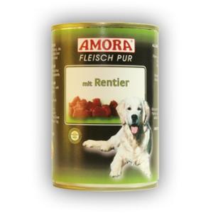 Amora Amora Fleisch Pur Konzerv 400g Rénszarvas