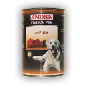 Amora Amora Fleisch Pur Konzerv 400g Pulyka