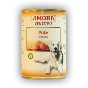 Amora Amora Sensitive Konzerv 400g Pulyka&Rizs