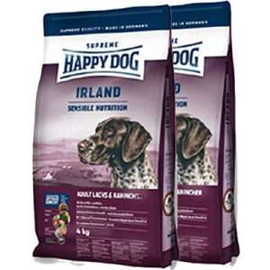 Happy Dog Supreme Irland Nyúlhússal 12,5 kg DuoPack