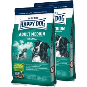 Happy Dog Supreme Adult Medium 12,5 kg DuoPack