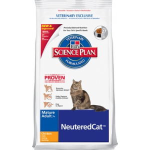 Hill's SP Feline Mature Adult SterilizedCat macskatáp 1,5 kg