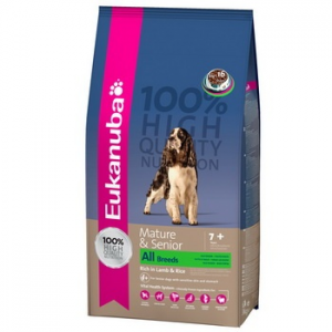 Eukanuba Mature & Senior Lamb & Rice 15 kg