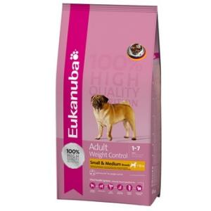 Eukanuba Adult Small & Medium Breed Weight Control 3 kg