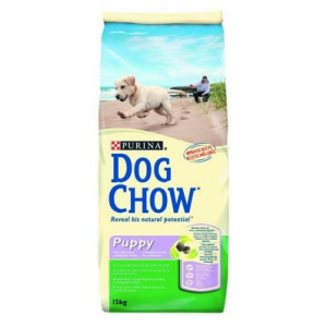 Purina Dog Chow Puppy Lamb & Rice kutyatáp 14 kg