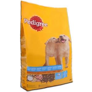 Pedigree Junior száraz Baromfi + Rizs ízesítéssel - 15 kg