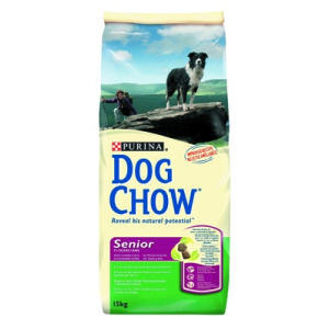 Purina Dog Chow Senior kutyatáp 15 kg