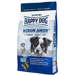 Happy Dog Supreme Medium Junior 25 kutyatáp 1kg