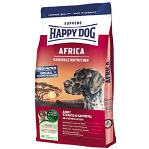 Happy Dog Supreme Africa Strucchússal kutyatáp 1 kg