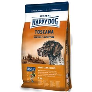 Happy Dog Supreme Toscana Lazachússal kutyatáp 1 kg