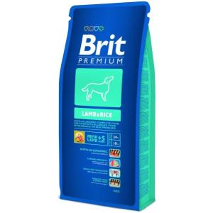 Brit Premium Lamb & Rice kutyatáp 15 kg