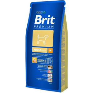 Brit Premium Adult Medium kutyatáp 15kg