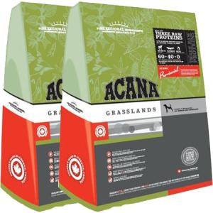 Acana Grasslands Dog kutyatáp 2X13 kg DuoPack