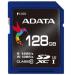 ADATA SDXC UHS-I U3 128GB (R/W 95/60MB/s - Video Full HD/3D) memóriakártya