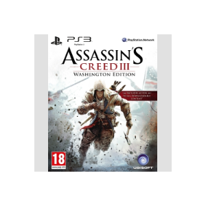 Ubisoft Assassin's Creed III Washington Edition PS3