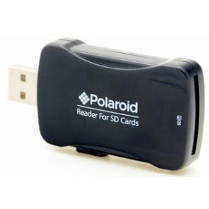 Polaroid SD-kártyaolvasó kitolható USB-csatlakozóval (P-PLMCRDRBULK)