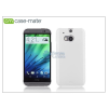 CASE-MATE HTC One (M8) hátlap - Case-Mate Barely There - white