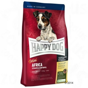Happy Dog supreme Mini Afrika - 2 x 4 kg