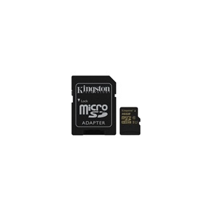 Kingston 16 GB MicroSDHC Card (Class 10, UHS-I) 1 adapter